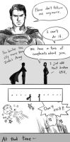 Superman / MAN OF STEEL (spoiler alert) by Mushstone