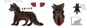 DF Tigerstar Design by Deerfoot-the-Cat