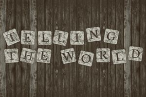 Telling The World - Cover Photo. by Niissi
