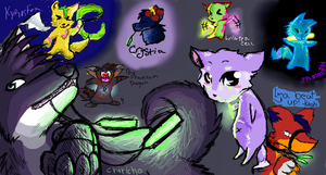 - Iscribble: Raving Wolves - by TeaDino