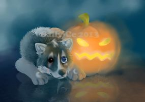 Halloween pumpkin by Sally-Ce