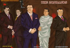 The Zopranos 1 by actiontales