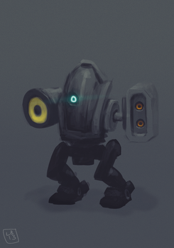 Boom Bot by renegadesoldier