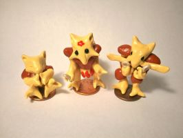Abra Evolutionary Family by ninjazzy