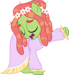 Tree Hugger vocalizing by SilverMapWolf