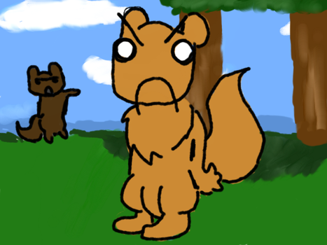 ugly squirrel run by max-the-squirrel