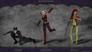Gotham Sirens by FoolishSiren