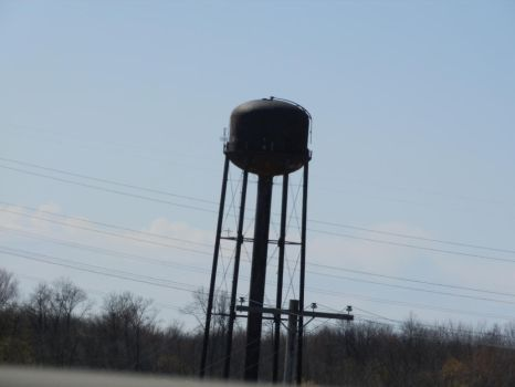 Water Tower [STOCK] by AzrielMordecai