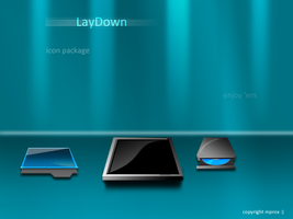 LayDown icons by mprox