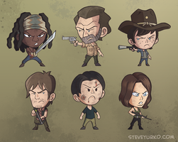Wee Walking Dead by TheSteveYurko