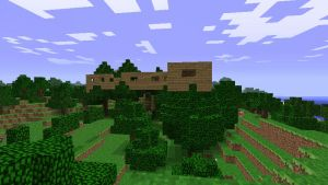 Minecraft Treehouse outside by Jhumperdink