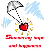 Showering hope and happiness by fizzlepop