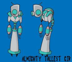 Almighty Tallest Gir by Janez21