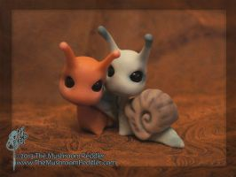 Slimey the Snail - BJD by TheMushroomPeddler