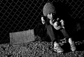 Homeless child 3 by fotograff