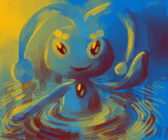 manaphy by goldgust