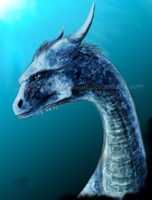 Saphira by ancarie-bluewolf