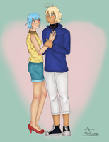 Request - Shuu and Maye by MalaMey