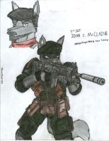 Sgt. John C. McClaine- younger by WMDiscovery93
