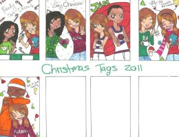 Christmas tags 2011 pt.2 by rumiko18