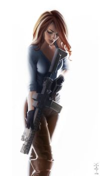 Ar15 is a girl's best friend by vombavr
