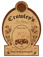 T-shirt: Crowley's Infernal Winery by stivaktis