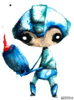 Megaman by wednesday-wolf