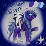 Mlp Adopt [OPEN]~ Midnight Whisper by ValicexandxFenris
