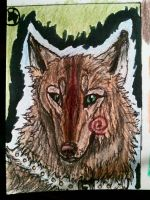 .::ACEO trade with Masque-kun::. by Snowstorm-wolf