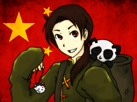 Hetalia - China aru! by Mossygator