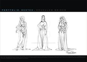 Dracula's brides by brunopacheco-design