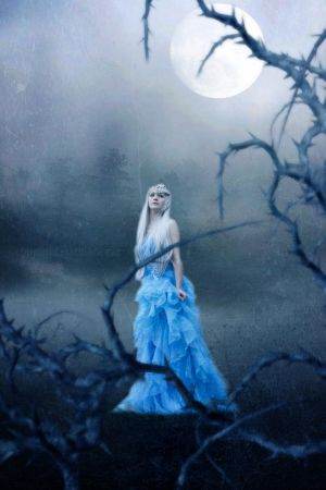 Walking under moonlight by PlacidAnemia