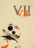 Star Wars BB-8 Poster by CoolSurface