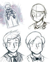 122412 SketchDump by WaywardDoodles