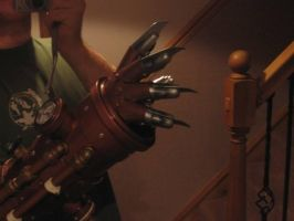 steampunk arm 2 by juggern0ught