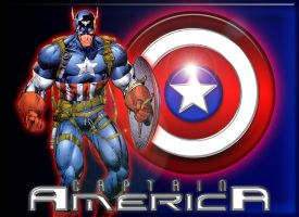 Captain Amercia.... by roo157