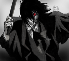 Alucard- Hellsing by rapperfree