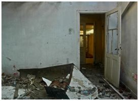 the destroyed room by akipo