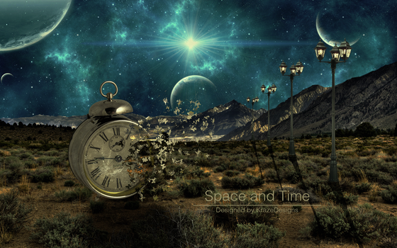 Space and Time by KrazeeDesigns