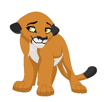 My new Lion King OC, Nia by xXMandiiXx