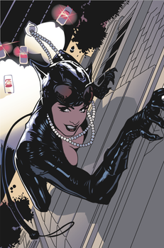 Catwoman in Illustrator by bringonthebedlam