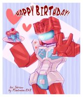 TF - Rosanna Happy Birthday by plantman-exe
