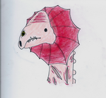 Red-Frilled Dragon by Zolk