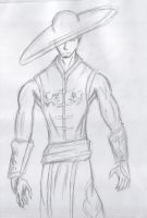 Kung Lao WIP 1 by royswordsman