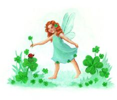 St. Patrick's Day Fairy by tlagrange