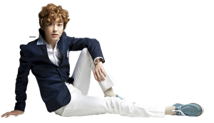 PNG : EXO-K Chanyeol by chazzief