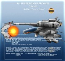R-9DH 'Grace Note' by Wes2299