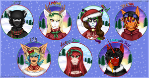 Merry Christmas! 2014 by NekoMellow
