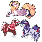[Commission] teeny lil weaves by alarmed-dingoes