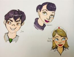 Moral Orel Characters by CozzaCake